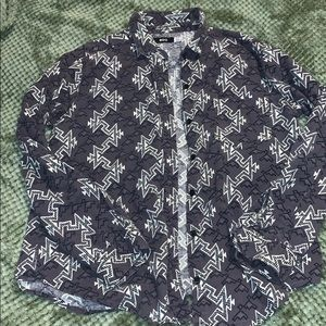 Patterned flannel shirt. BDG Urban Outfitters